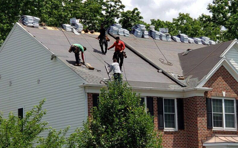 roofing replacement in Northern Virginia & Maryland